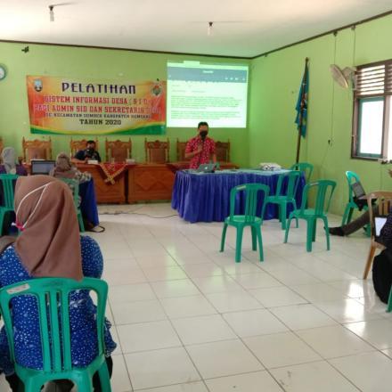 18 Desa Mengikuti Pelatihan SID